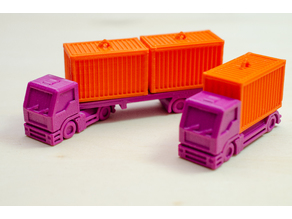 Trucks for my Container Ships