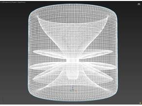 Fall Resistive Metamaterial Concept