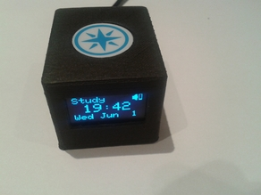 Enclosure for Photon (Particle) with OLED 1306 display