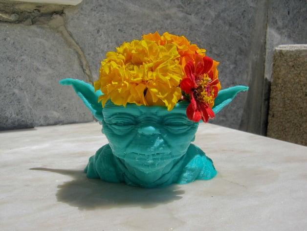 Yoda Vase