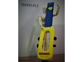 Travelele - The Compact Travel Ukulele
