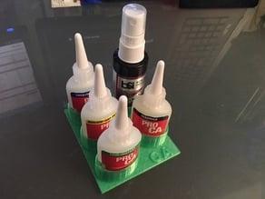 CA Glue Bottle Holders