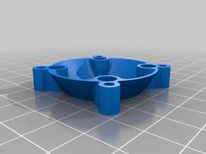 30mm to 40mm fan adapter without supports