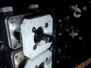 NEMA 17 to NEMA w/ Planetary Gearhead - Thicker
