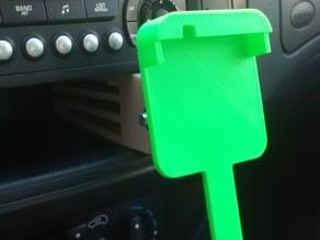Citroen C3 exchangeable mobile holder (moto G) / Citroen C3 soporte de movil intercambiable