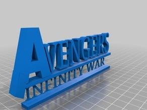 Marvels Infinity War