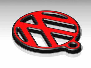 VW KEY RING