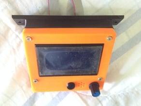 Reprap Full Graphic LCD housing ADDON