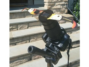 Nikon D90 - Solar Eclipse Glasses Mount