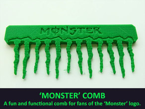 'Monster' Comb