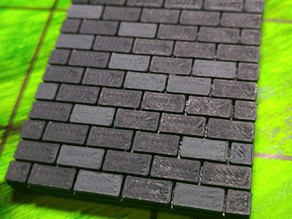 threednd - modular brick floor