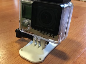 ZMR 250 GoPro mount plates