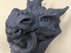 Dragon Door Knocker (Lulzbot Mini)