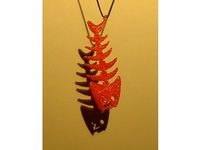 Fishbone Flex Pendant