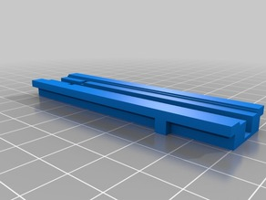 Nerf_Tactical_Rail without front of nerf toy