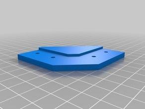 Corner bracket for 20mm aluminum square tube