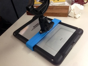 iPad Air lifeproof case to RAM mount