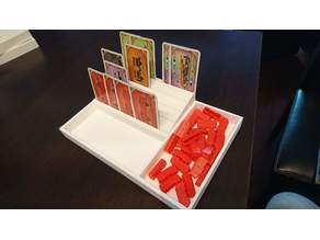 Soporte para cartas y tokens, game card holder