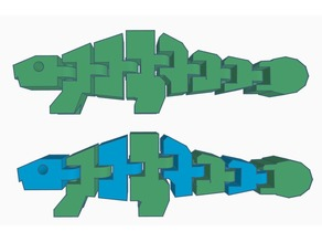 Flexi Ankylosaurus Remix