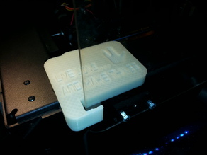 PowerSpec 3D Pro/FlashForge Creator Pro Door Holder