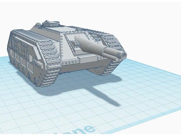 Lamia, Warhammer 40k Tank Destroyer by