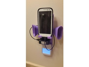Outlet Cover Plate Charging Station with Speaker Cones