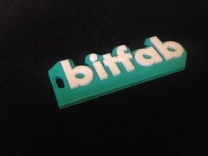 Bitfab multi color keychain