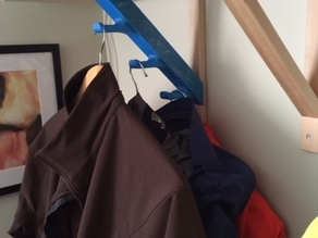 Coat Hooks for IKEA Ekby Valter