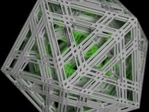 Triple-Mengered Icosahedron
