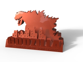 GODZILLA Business Card Holder