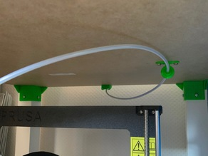 Original Prusa i3 Enclusure - Ikea LACK Table, Filament Guide Internal