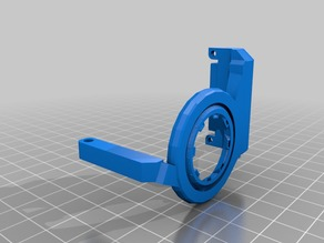 Anet E12 extruder fan vent