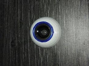 Inmoov eyeball - wide lens