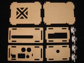 ODROID C1+ HiFi Shield Case