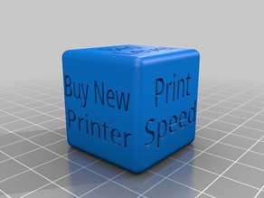 Printer Diagnostic Dice