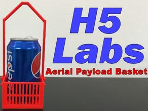 Aerial Payload Basket for Quadcopters / Drones / RC Helicopters