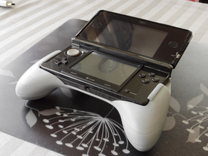Ergonomic Grip For The 3DS (original 3ds)