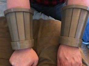 G.I. Joe Destro Faction Bracers