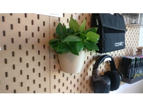 Planter Ikea pegboard