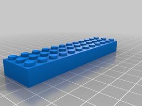 3x12 Parametric Lego Brick
