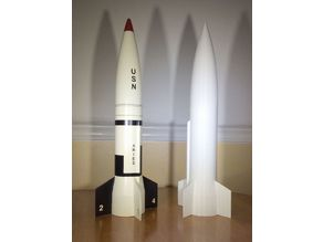 1/17th scale modular Aries Model Rocket