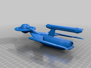 Star trek spaceship fusion concept 2