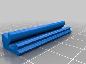 LED Stripe Clip for 20x20 aluminium profile, B-type nut 6