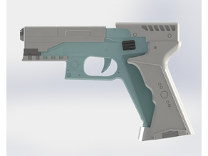 Major's Thermoptic Pistol - Ghost In The Shell