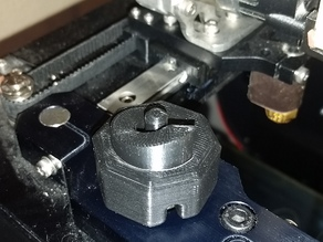 MakerGear Z-knob with Crank and Stop