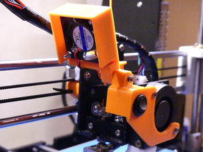 Extruder Fan Swivel and switch