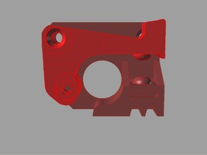 Replicator 2, CTC, extruder upgrade compatiable with 12mm V-groove Filament Bearing