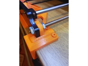 Anet-A8 Front Brace table Clamp