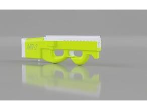 ABR-2 Solenoid Bullpup Flywheel Nerf Blaster