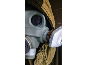 Gas Mask Filter Adapter (40mm NATO to 3M 6000 Series)